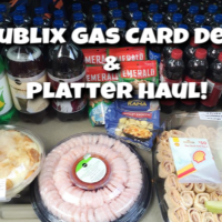 PUBLIX Weekly Haul VIDEO!  Gas Card week and Publix Platter Week!