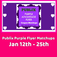 Publix Purple Flyer Matchups January 12th – 25th!!