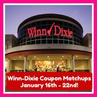 Winn Dixie Hot Deals and Matchups January 16th – 22nd!!