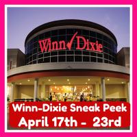 Winn Dixie HOT DEALS & MATCHUPS April 17th – 23rd!