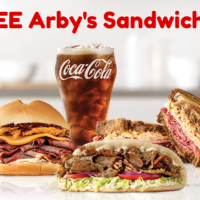 FREE ARBY'S SANDWICHES!!  Hurry Hurry!!