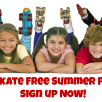 Kids Skate Free Summer Passes!!  Sign up now!